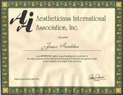 Sy - Aestheticians International Associa