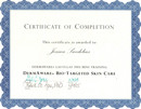 SY - (1) Dermaware Products Certificate.