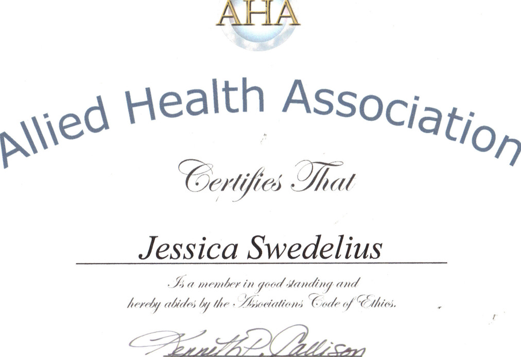 SY - Allied Health Association (AHA) (1)