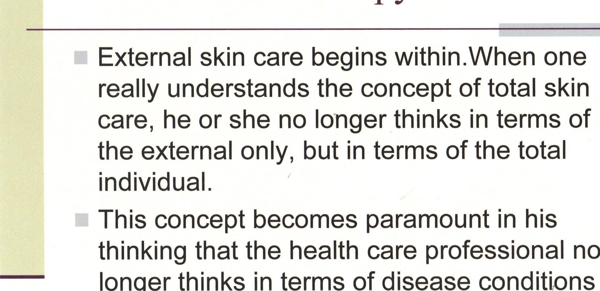 SY - Presentation -  EE - Internal Skin
