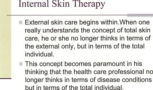 SY - Presentation -  EE - Internal Skin