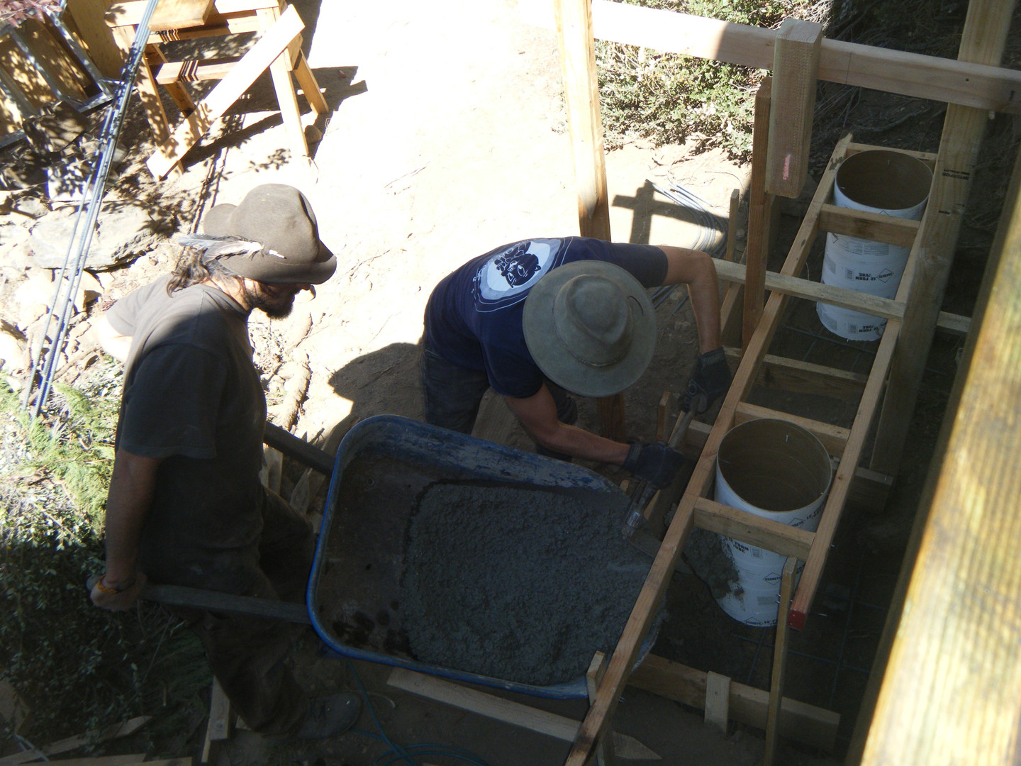 Cabin footing pour (6).JPG