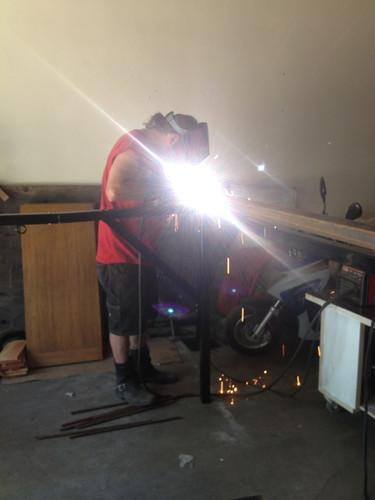 welding stage cage 2015 005.JPG
