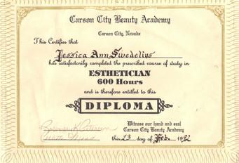 SY - Aesthetician Diploma.JPG