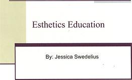 SY - Presentation - Esthetics Education