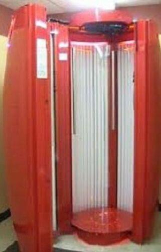 Sundazzler standup suntan bed -red.jpg