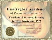 SY - Huntington Academy Perm Make Up Cer