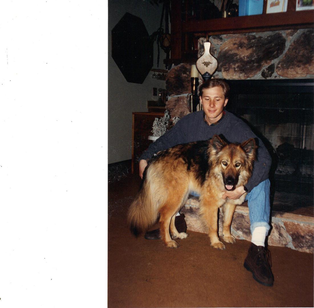 Jeremy Wilken & Juneau - approx 1991.JPG
