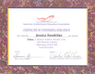 SY - American Aestheticians Education As
