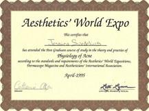 SY - Aethetics World Expo - Acne Physiol