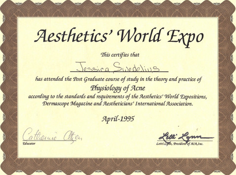 SY - Aethetics World Expo - Acne Physiol