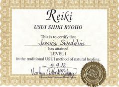 SY - Reiki Level I Certificate.JPG