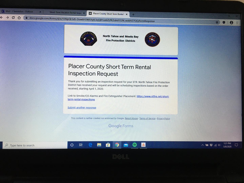 Placer County STR Compliance demands -&