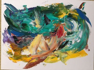 Patsy Greenwell - Abstract Paint - Surfe