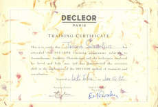 SY - Decleor Products Certificate.JPG