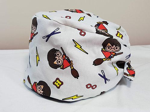 Harry Potter Scrub Cap Doctor Nurse Hat Adjustable Chemo Headwear Hair Loss Hat
