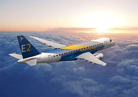 EMBRAER_airliner_aircraft_airplane_trans