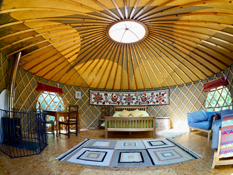 Yurt available from 2021