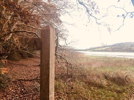 10k circular walk via Slebech Park, along the Eastern Cleddau, Blackpool Mill and Canaston Bridge.