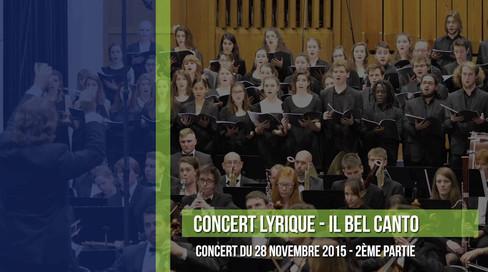 Concert Bel canto IMEP (partie 2)