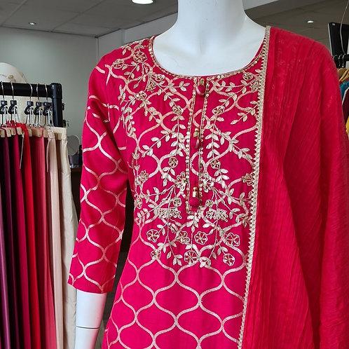 Embroidered Lehenga Dress