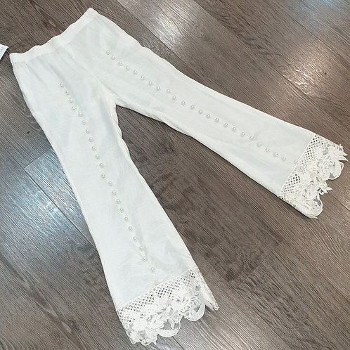 Lace & Pearl Trouser