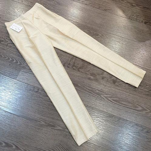 Raw Silk Trouser
