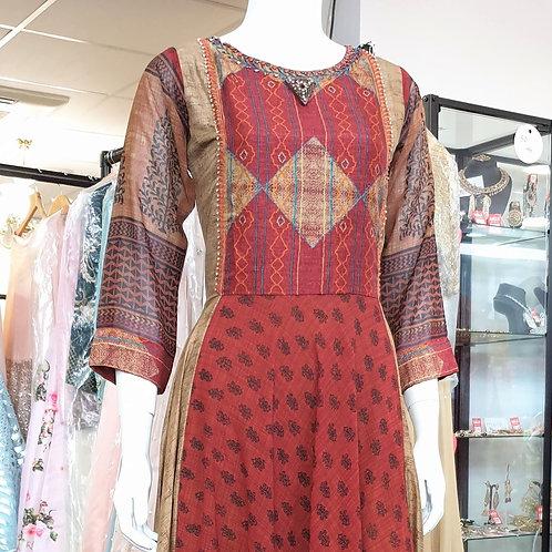 Georgette Print Dress