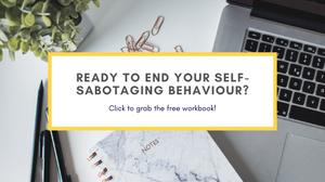 self sabotage workbook