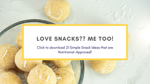 21 simple snacks that are nutritionist approved