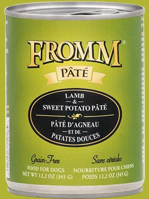 FROMM - Sans Grains Pâté Agneau et Patates Douces 345g