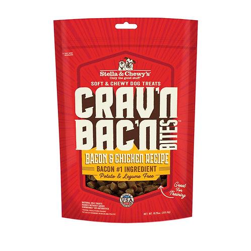 STELLA & CHEWY'S - Crav'n Bac'n Bacon et Poulet