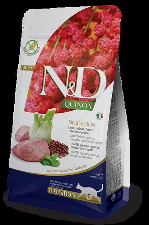 FARMINA - N&D Quinoa Sans Grains Digestion Agneau 3.3lbs