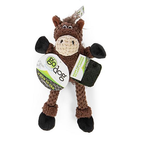 GODOG - MINI Cheval avec pattes avec technologie Chew Guard