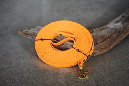 LA VIE AU LAC - Longe Biothane Orange