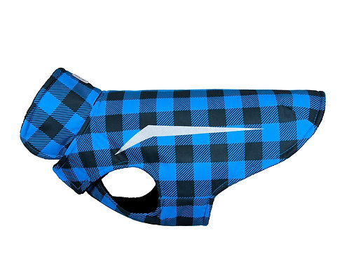 RC PETS - Manteau ''SHASTA'' Blue Buffalo Plaid - Grandeur 16