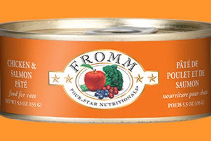 FROMM - Pâté Poulet et Saumon 155g