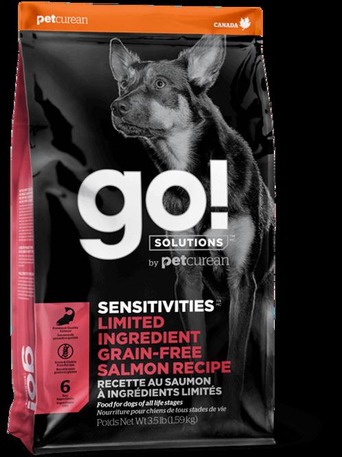 PETCUREAN GO! - Ingrédients Limités Sans Grains Saumon 22lbs