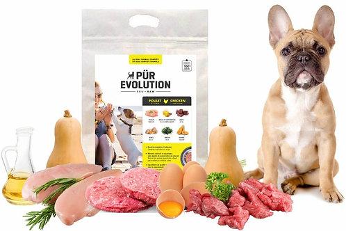 PÜR EVOLUTION - Poulet et Courge 8.8lbs - Repas pour chiens