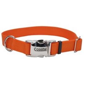 COASTAL - Collier en Nylon avec boucle de métal ORANGE - Prix à partir de
