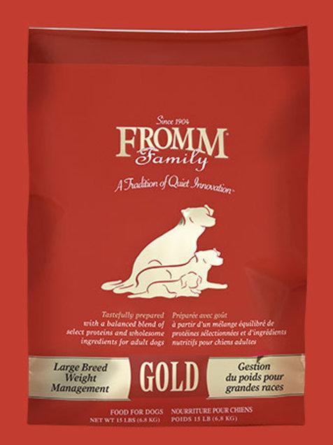 FROMM - Gold Gestion de Poids Grande Race 15lbs