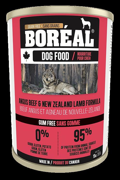 BORÉAL - Sans Grains Boeuf Angus et Agneau 369g