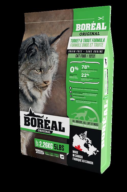 Boréal - Sans Grains Dinde et Truite 12lbs
