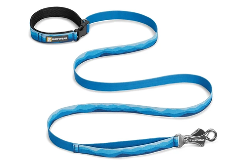 RUFFWEAR - Laisse Flat Out Blue Mountains