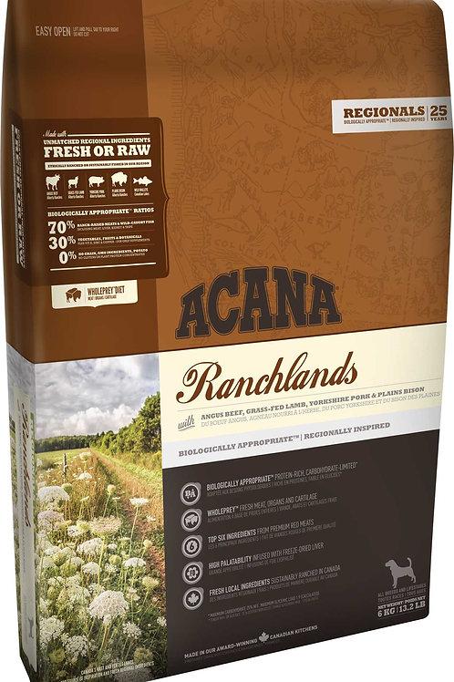 ACANA - Regionals Sans Grains Ranchland 4.4lbs