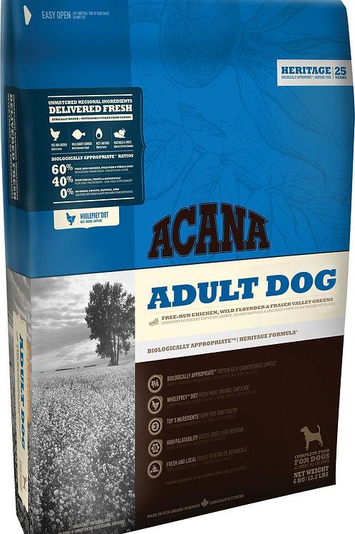 ACANA - Heritage Sans Grains Adult 25lbs