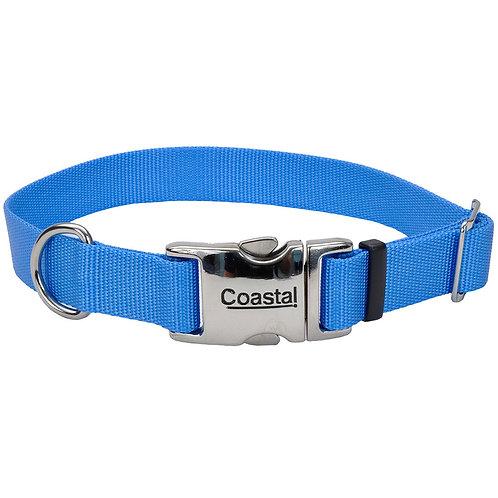 COASTAL - Collier en Nylon avec boucle de métal BLEU PÂLE - Prix à partir de