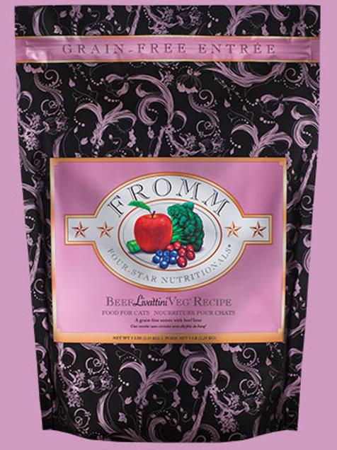 FROMM - Four Star Sans Grains Boeuf Liva'tinni' 15lbs