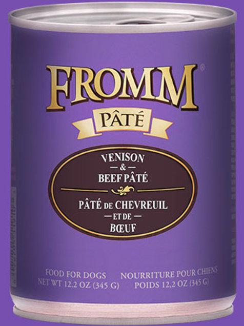 FROMM - Avec Grains Pâté Chevreuil et Boeuf 345g