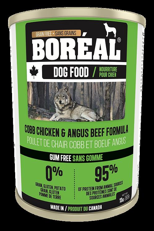 BORÉAL - Sans Grains Poulet Cobb et Boeuf Angus 369g